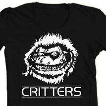 Critters retro horror movie black t shirt thumb200