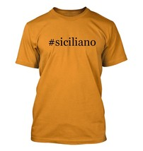 #siciliano - Hashtag Men's Adult Short Sleeve T-Shirt  - $24.97
