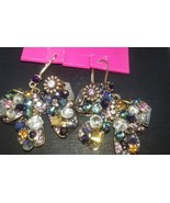 BETSEY JOHNSON BOWS WITH GORGEOUS JEWELS, CRYSTALS AND STONES NWT $45! - $25.99