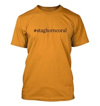 #staghorncoral - Hashtag Men's Adult Short Sleeve T-Shirt  - $24.97