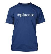 #placate - Hashtag Men's Adult Short Sleeve T-Shirt  - $24.97