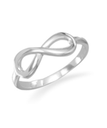 Polished Sterling Silver Infinity Ring - $28.95