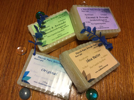Handmade Soap No scent Vegan Natural- Pick Shea Butter, Coconut, Olive, ... - $6.19+