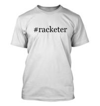 #racketer - Hashtag Men's Adult Short Sleeve T-Shirt  - $24.97