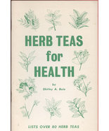 Herb Teas for Health Boie, Shirley A. 12912 - $15.00