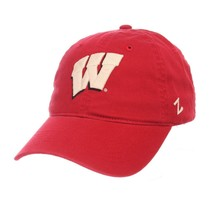 NCAA Wisconsin Badgers Scholarship Relaxed Red Adjustable Slouch Hat / Cap - $22.99
