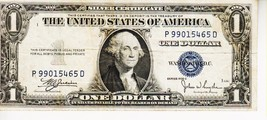 SERIES 1935 C  ONE DOLLAR SILVER CERTIFICATE==CIRCULATED CONDITION - $2.47
