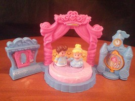 Fisher-Price Little People  Disney Princess Cinderella's Ball 3 & up    ... - $10.88