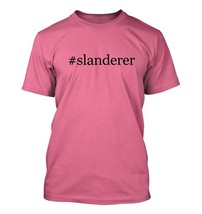 #slanderer - Hashtag Men's Adult Short Sleeve T-Shirt  - $24.97