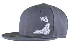 Dissizit Smoke Bowls Skateboard D Bones Ramp Grey Snapback Baseball Hat NWT image 1