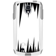 CUSTOM White OtterBox Commuter Series Case for Samsung Galaxy S4 - White... - $39.58