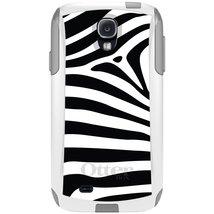 CUSTOM White OtterBox Commuter Series Case for Samsung Galaxy S4 - Black... - $39.58