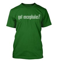 got encephalos? Men's Adult Short Sleeve T-Shirt   - $24.97