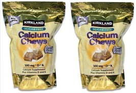 360 Soft Caramel Calcium Chews 500 mg + Vitamin D & K kirkland signature - $89.08