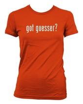 got guesser? Ladies' Junior's Cut T-Shirt - $24.97