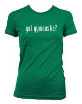 got gymnastic? Ladies' Junior's Cut T-Shirt - $24.97
