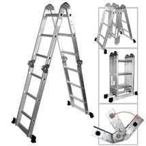 Multi-Purpose Aluminum Folding Ladder - Nk # 01995 - $229.99