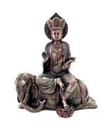 """SAMANTABHADRA STATUE 9"""" Bodhisattva of Great Virtue HIGH QUALITY Buddha Buddhist - $78.88"""