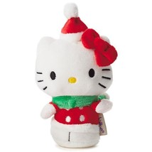 Holiday Hello Kitty - Hallmark itty bitty bittys Cat Christmas Bow Toys ... - £11.57 GBP