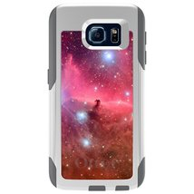 CUSTOM White OtterBox Commuter Series Case for Samsung Galaxy S6 - Horse... - $39.58