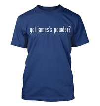 got james's powder? Men's Adult Short Sleeve T-Shirt   - $24.97