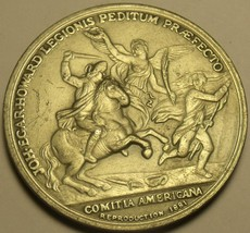 Comitia Americana 37.8mm Solid Pewter Medallion~Free Shipping - $7.83