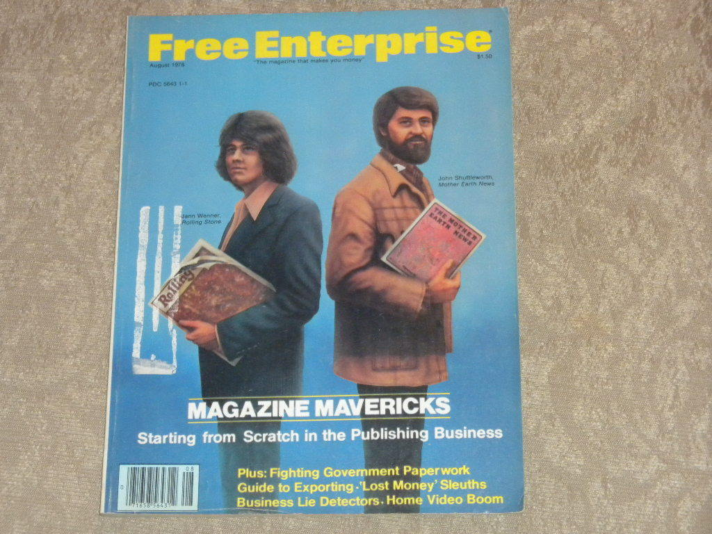 Primary image for Free Enterprise Magazine Aug 1978 Starting in Publishing; Oil; Lie Detectors VG+