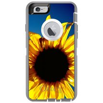 CUSTOM Grey OtterBox Defender Series Case for Apple iPhone 6 PLUS / 6S P... - $54.43