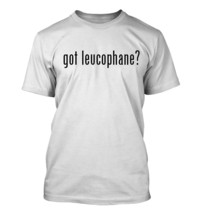 got leucophane? Men's Adult Short Sleeve T-Shirt   - $24.97