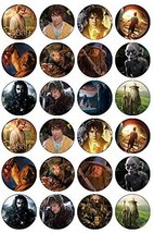 24 The Hobbit Edible Wafer Paper Cup Cake Toppers by CakeThat - $13.21 CAD