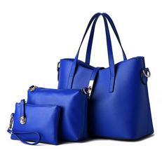 Simple Women Large Shoulder Bags Mixed Color Handbags,Purse B044-3 - $40.00