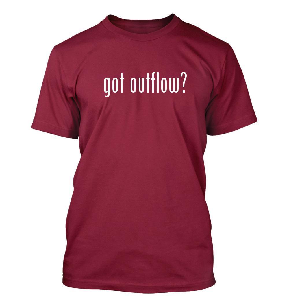 got outflow? Men's Adult Short Sleeve T-Shirt
