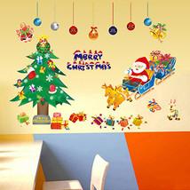 Christmas decoration stickers glass window wall... - $11.21