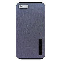 CUSTOM Black Incipio DualPro Case for Apple iPhone 5 / 5S - Dark Grey Le... - $19.78