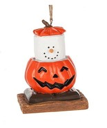 S'mores Original 2017 Pumpkin Jack O Lantern Ornament - $15.20