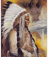 Chief Sitting Bull by Ruane Manning Native Amer... - $24.74