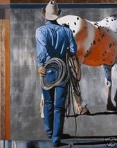 This One's Mine David DeVary Cowboy Horse Gicle... - $346.50