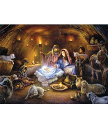 Three 9x12 Tom duBois Religious Christmas Open ... - $98.01