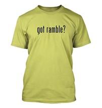 got ramble? Men's Adult Short Sleeve T-Shirt   - $24.97