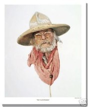They Call Me Hambone by Gordon Snidow SN LE Lithograph Cowboy Western - $113.85