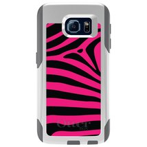 CUSTOM White OtterBox Commuter Series Case for Samsung Galaxy S6 - Black... - $39.58