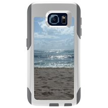 CUSTOM White OtterBox Commuter Series Case for Samsung Galaxy S6 - Ocean... - $39.58