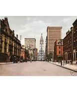 America Street Scene Photo Print, Philadelphia 1900 - $14.84