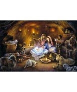 No Room In The Inn by Tom duBois Christmas Mang... - $173.25