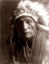 Eagle Eyes 1907 New Reproducion Of A Vintage Native American Indian Phot... - $28.70