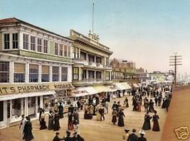 Boardwalk at Atlantic City 1900 8x10 Digital Print - $14.84