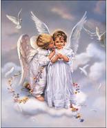 Angel Kisses by Sandra Kuck 16 x 20 Open Editio... - $49.50