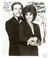 Robert Wagner & Stephanie Powers Plate Signed P... - $9.89