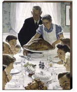 Freedom from Want  Norman Rockwell Thanksgiving... - $286.11