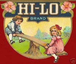 Hi Lo Brand Vintage Label Print - $14.84